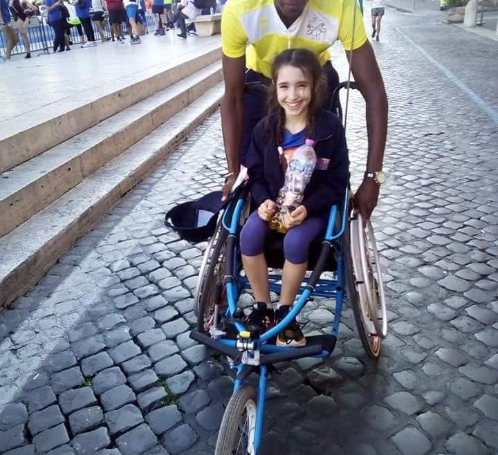 Via Pacis, il migrante e la bambina