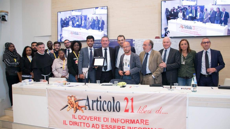 La cooperativa Auxilium riceve un importante riconoscimento da Articolo21