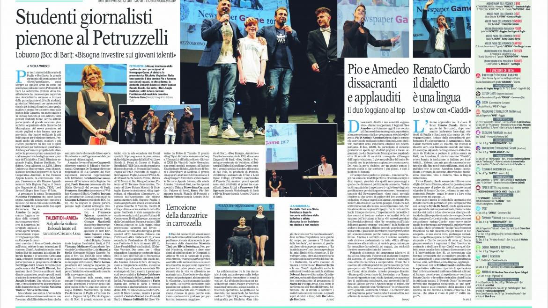 Newspaper Games, Auxilium «Per un mondo migliore»