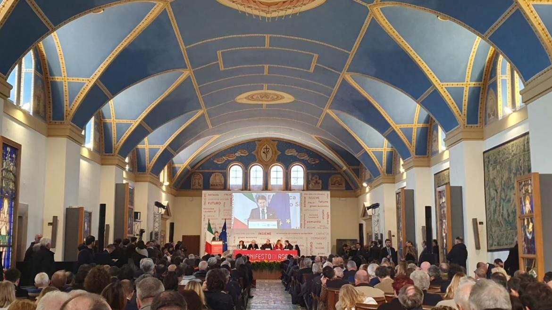 Manifesto di Assisi dal volto lucano con Angelo Chiorazzo e la cooperativa Auxilium