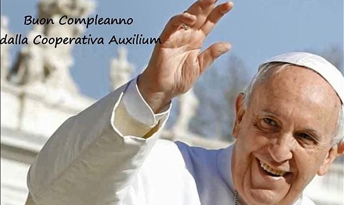 Buon Compleanno Papa Francesco