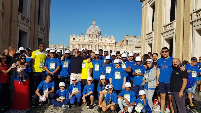 Auxilium corre alla Rome Half Marathon Via Pacis