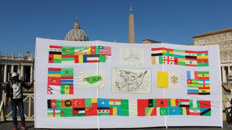 Auxilium con Papa Francesco per la Giornata Mondiale del Migrante e del Rifugiato