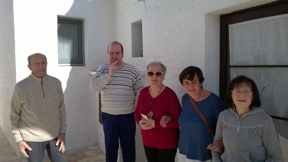 Una bellissima giornata ad Alberobello per la RSA di Crispiano