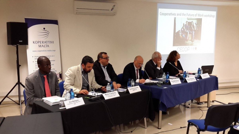 A Malta per l'Assemblea generale CECOP e Cooperatives Europe