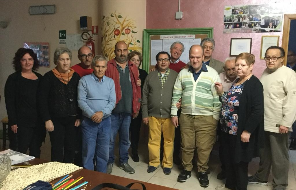 I vertici di Psichiatria Democratica in visita a Vallina di Calvera