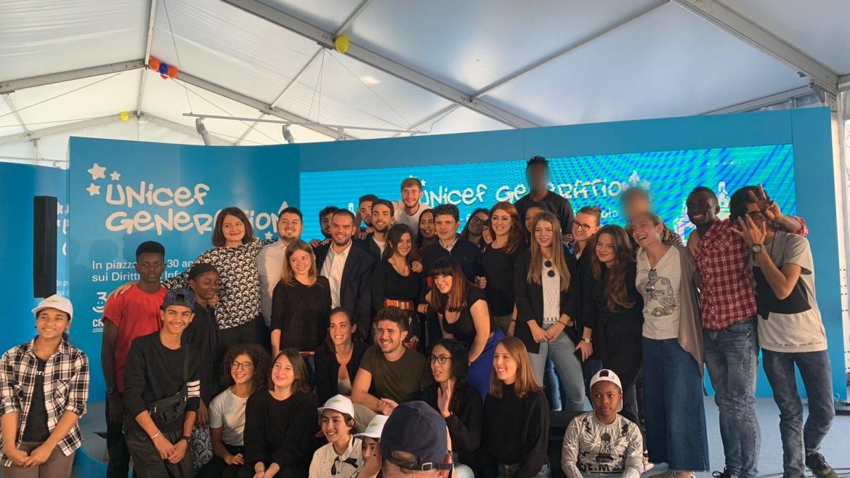 UNICEF Generation, Auxilium presente in Piazza del Popolo