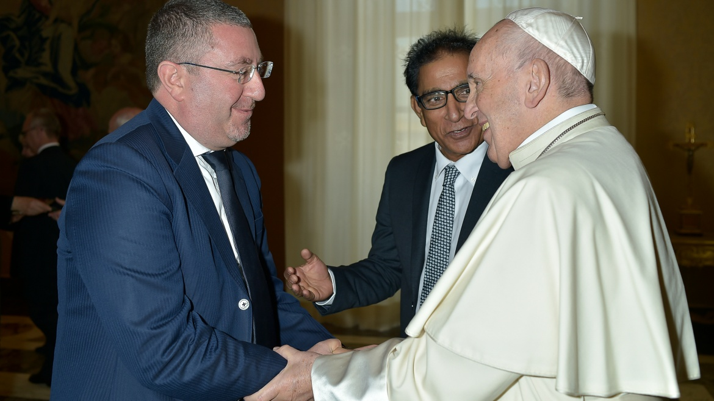 Associazione Shahbaz Bhatti con Papa Francesco