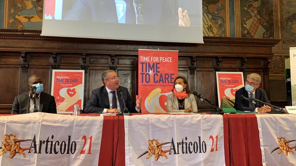 La cura della libertà, la Cooperativa Auxilium a Perugia con Articolo21