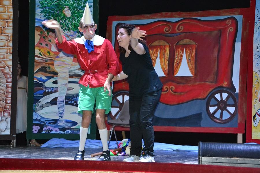 """Il """"Pinocchio in scena"""" in trasferta al teatro Paisiello di Lecce"""