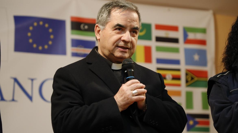 """Monsignor Angelo Becciu a Mondo Migliore,  """"Il mondo diviso qui diventa unito"""""""
