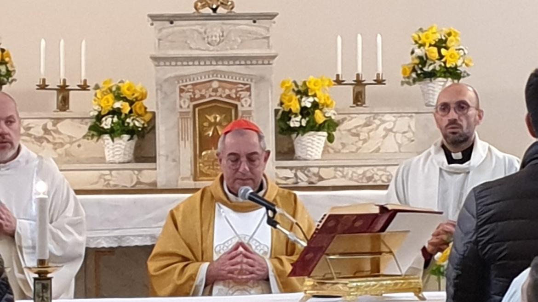 Il cardinale Angelo De Donatis al Protettorato San Giuseppe