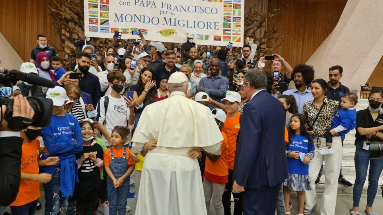 Con Papa Francesco per un Mondo Migliore