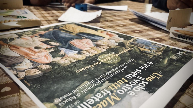 Per la giornata mondiale del malato, le cartoline dipinte a Casa Vallina