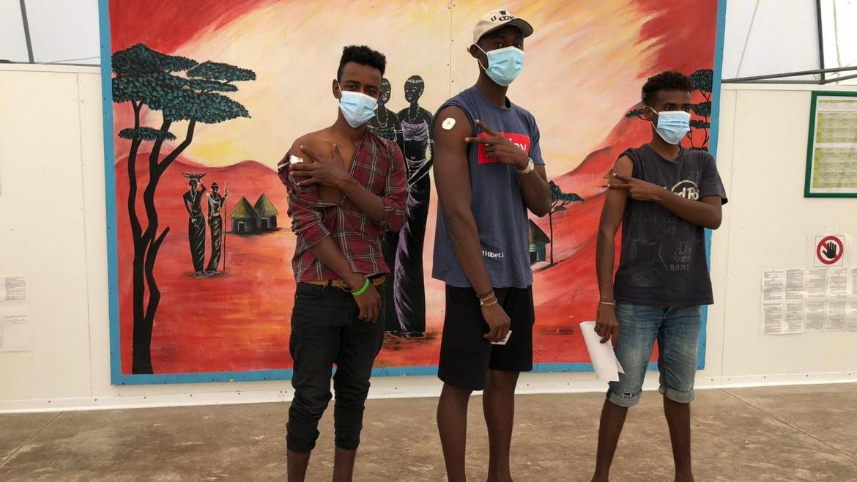 Il Vaccine Day al CARA di Bari