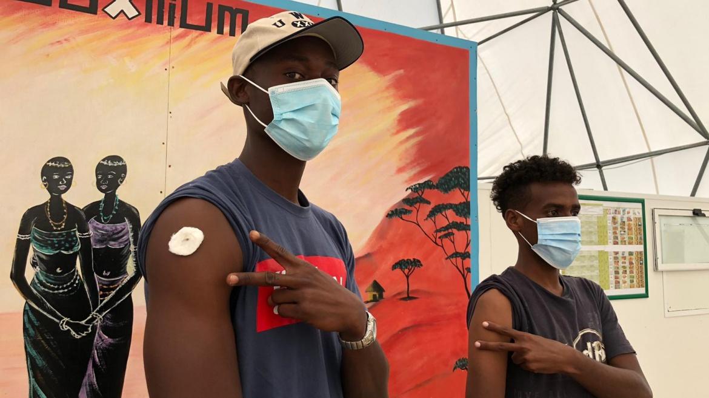 Ansa, vaccini somministrati al CARA di Bari