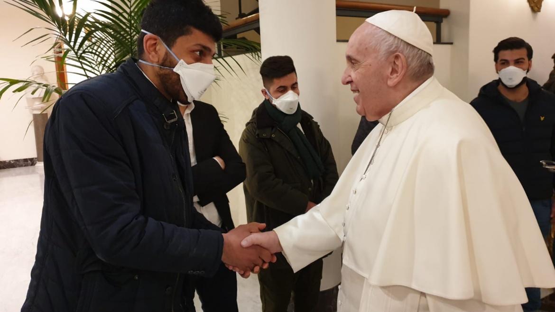 TG1, l'incontro di Auxilium con il Papa in partenza per l'Iraq