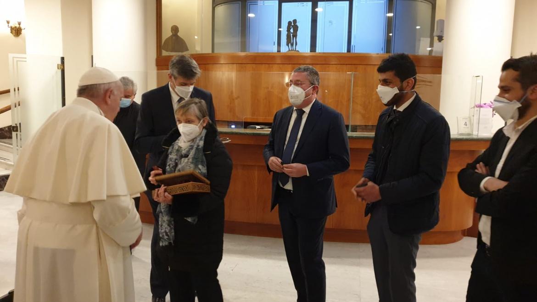 L'Osservatore Romano: il Papa e la speranza dei giovani iracheni in Italia con Auxilium