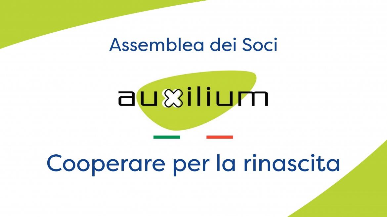Convocazione Assemblea dei Soci della Cooperativa Auxilium