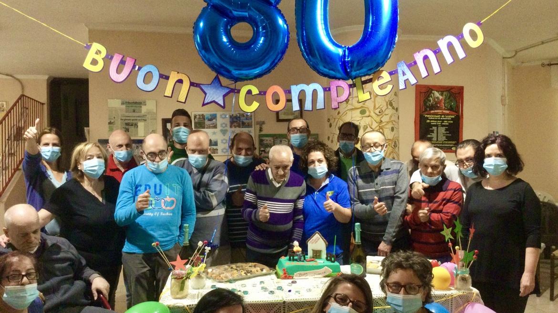 Rosario, il primo paziente Auxilium compie 80 anni