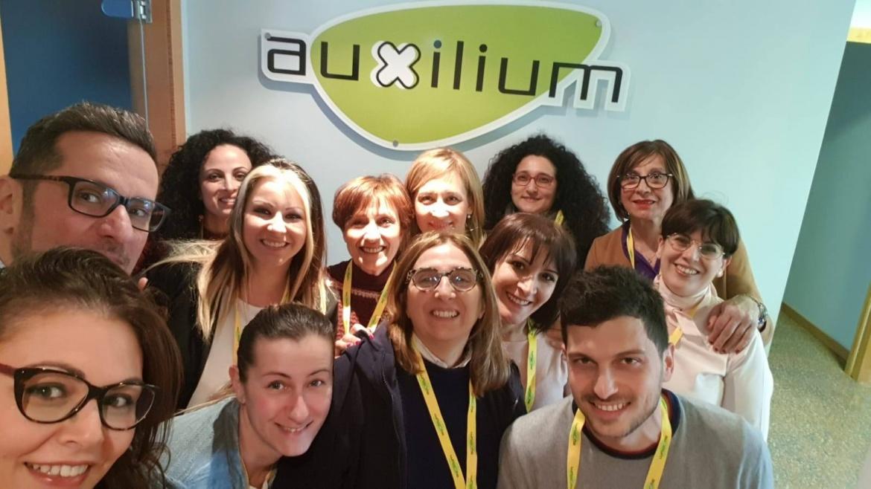 La cooperativa Auxilium nel servizio di assistenza scolastica